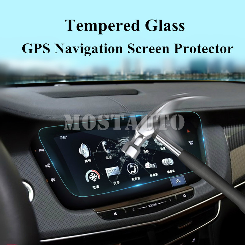 2019 Cadillac Ct6 Interior Colors: For Cadillac CT6 Tempered Glass GPS Navigation Screen