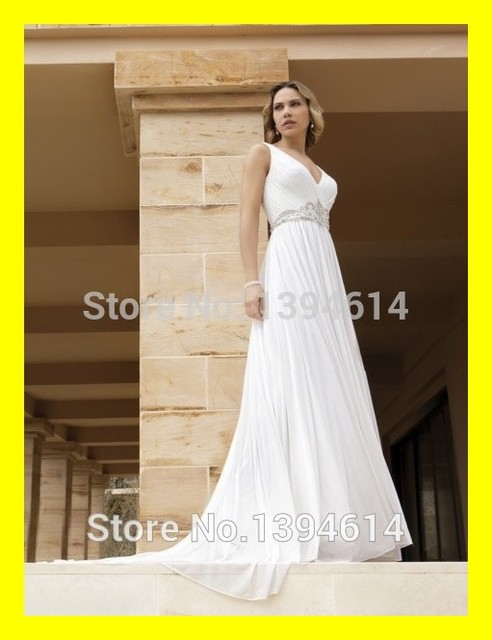 Hippie Wedding Dresses.Us 178 0 Hippie Wedding Dress Sexy Champagne Dresses Long Plus Size Under Beach Floor Length Court Train Beading V Neck Of 2015 In Stock In Wedding