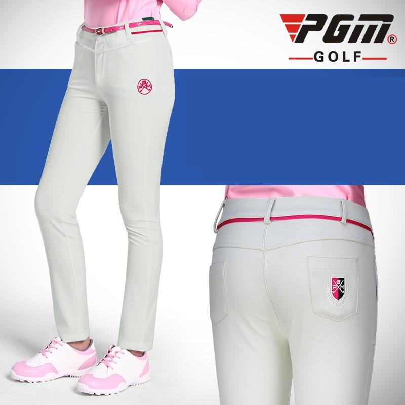 Pgm Golf Pants Golf Trousers Female Slim Trouser Autumn Winter Full Length Pant Sport Golfs Apparel