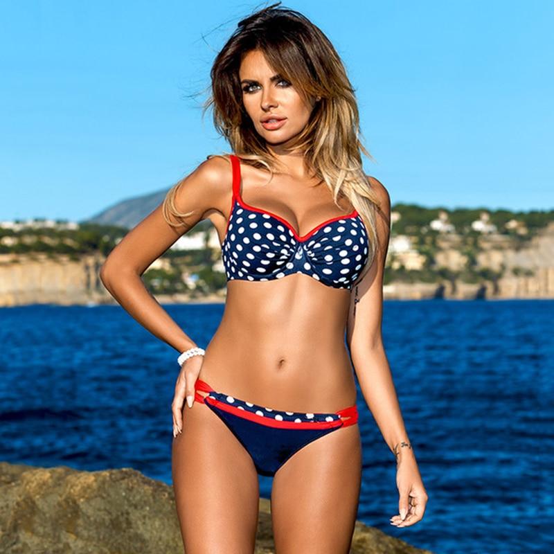 HTB1H9mOAL1TBuNjy0Fjq6yjyXXaR Chisalis Sexy Swimsuit Women Bikini 2019 Print Push Up Swimwear Women Brazilian Bikini Set Beach Bathing Suit biquini floral