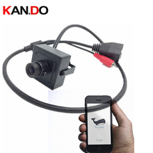 Мини IP видеонаблюдения Камера HD720P CCTV ip Камера интернет Камера радионяня internet security cctv TCP/IP, DHCP PPPoE безопасности Камера