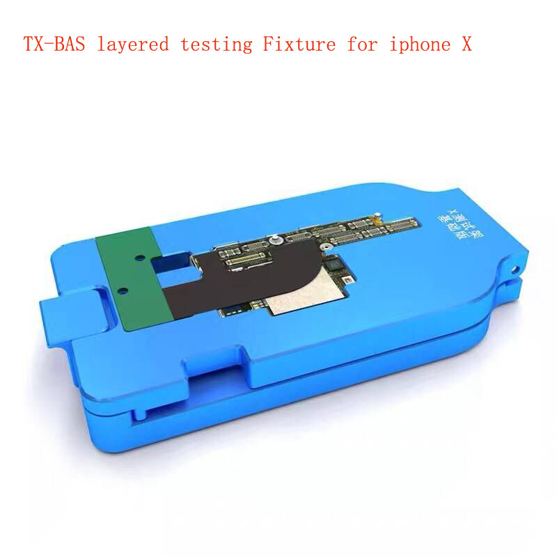 TX-BAS best for iphone X layered motherboard test rack Battery free No tail insertion One button open fast Boot testerTX-BAS best for iphone X layered motherboard test rack Battery free No tail insertion One button open fast Boot tester