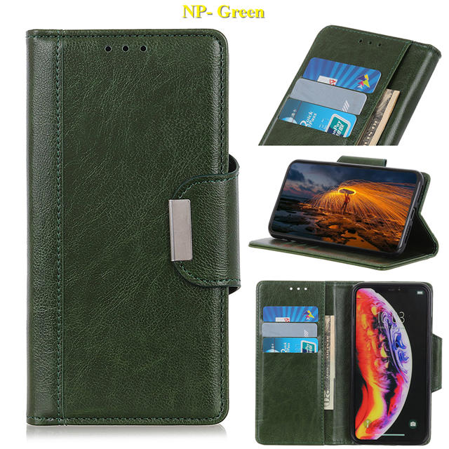 Business Magnetic Leather Wallet Case for iPhone 11/11 Pro/11 Pro Max 12