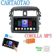 Car Radio Multimedia Video Player Mirror Link For Toyota Corolla E140/150 2008 2009 2010 2011 2012 2013 No Android 2 DIN