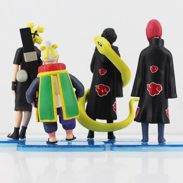 4 Pcs Uzumaki Naruto Battle Of