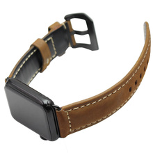 High Quality Vintage Genuine Leather Watchbands For Apple 38mm 42mm