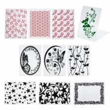 New Butterfly Flowers Star Plastic Embossing Folder For Scrapbooking DIY Photo Album Card Party Decoration Papercraft #228791