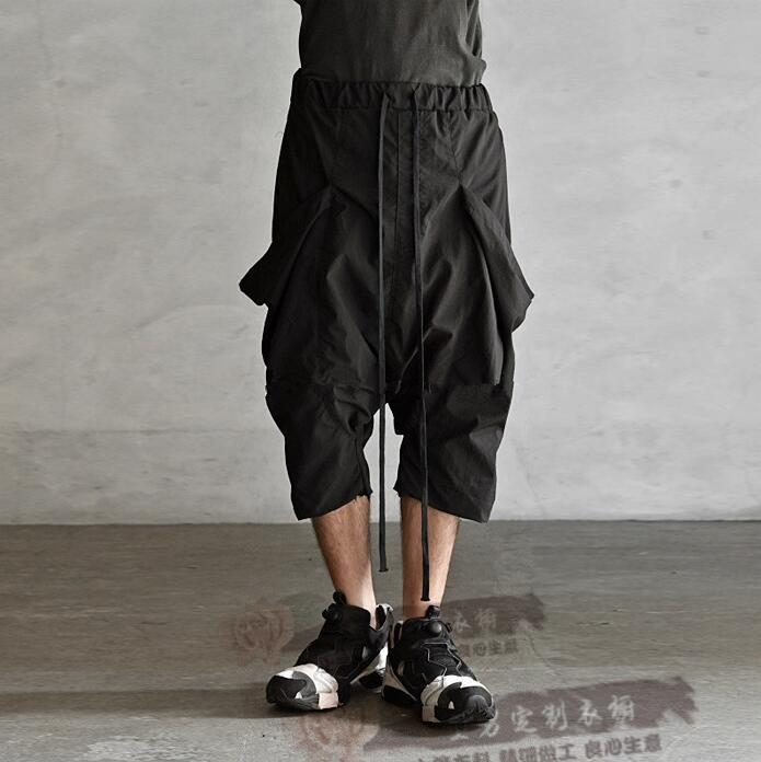 Fashion Pants Capris Loose Casual 27-44 Male Mid Can-Be-Customized Middlelowlevel Personality