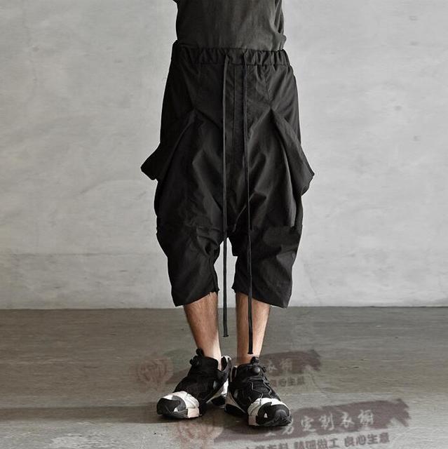 27-44!! Có thể tùy chỉnh!!!!!!!!! Middlelowlevel nam thời trang đơn giản cá tính rời Capris 2019 mới thời trang Hậu Cung quần