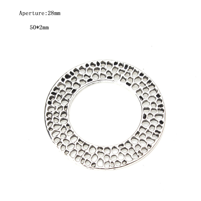 5pcs/lot Jewelry Metal Spaced Connector Split Ring Jewelry Accessories Connectors For Jewelry Handmade Components