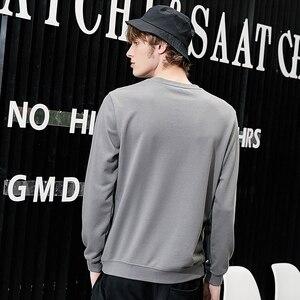 Image 4 - Pioneer camp new outono camisola hoodies dos homens de roupas de marca de moda casual letra impressa hoodies masculinos de algodão tops AWY801265