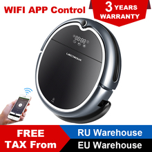 LIECTROUX Robot Vacuum Cleaner Q8000, WiFi Map Navigation Wet Dry Mop Strong Suction Smart Memory UV Light Virtual Blocker цена и фото