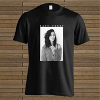 T Shirt Printing Company O-Neck Short Hot Katy Perry Photo Funny T Shirt For Men