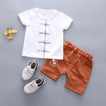Toddler Baby Kids Boys Clothes Sets Summer Cut Boys Clothing set Cartoon Kids T-shit+Pants Fashion Cotton Cute Outfits недорого