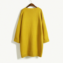Casual Long Knitted Cardigan for Women