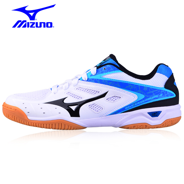 50466c7687 Genuine MIZUNO WAVE KAISERBUGE 4 Table Tennis Shoes for men women Cushion  Breathable light weight Sports Shoes Sneakers