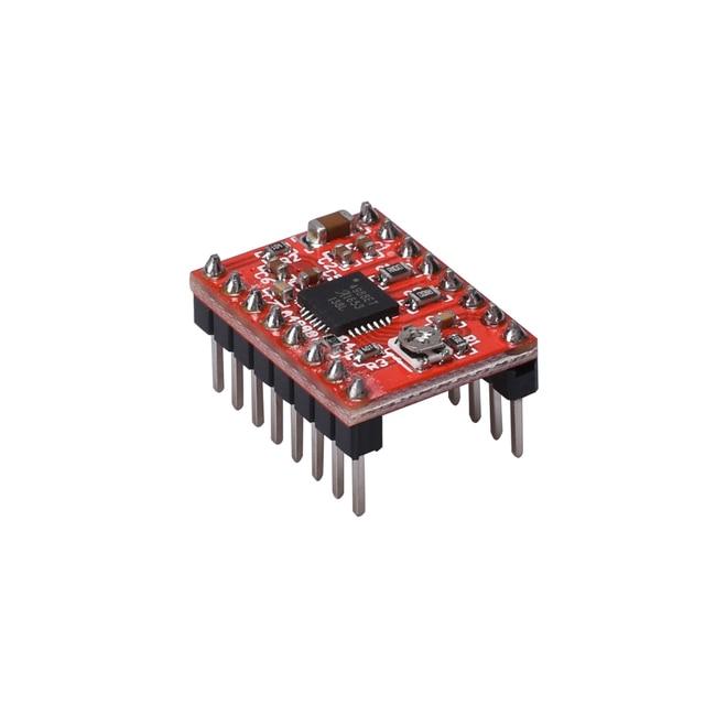 3D Printer Parts Stepstick A4988 DRV8825 Stepper Motor Driver Module With Heatsink Reprap Ramps 1.4/1.5/1.6 Control Board MKS 3