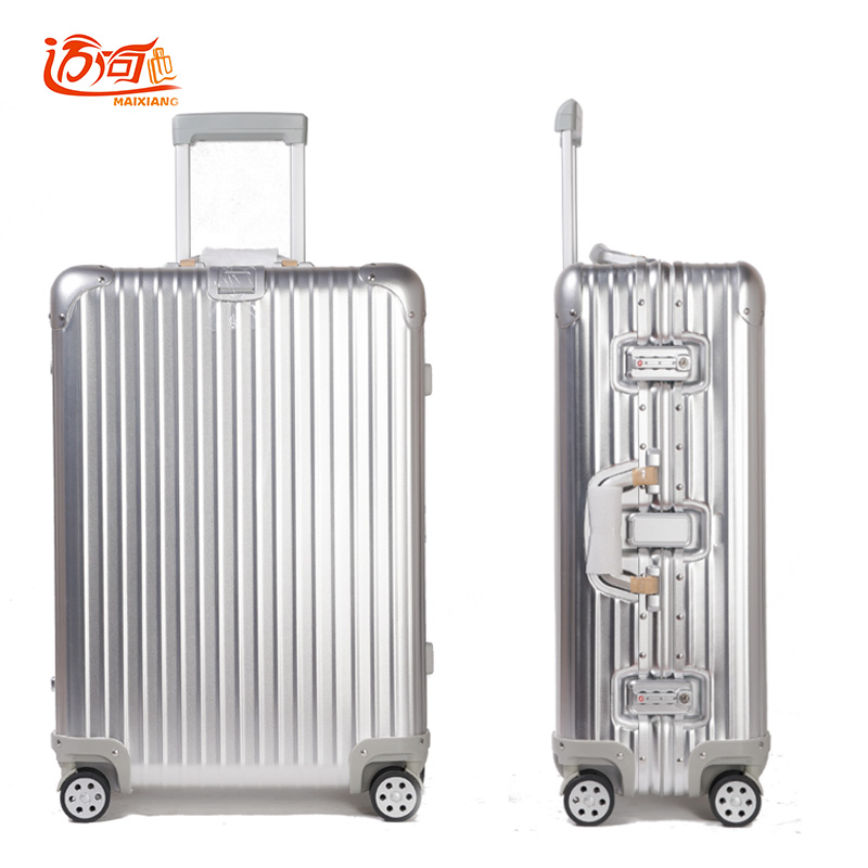 Popular Vintage Aluminium Suitcase-Buy Cheap Vintage Aluminium ...