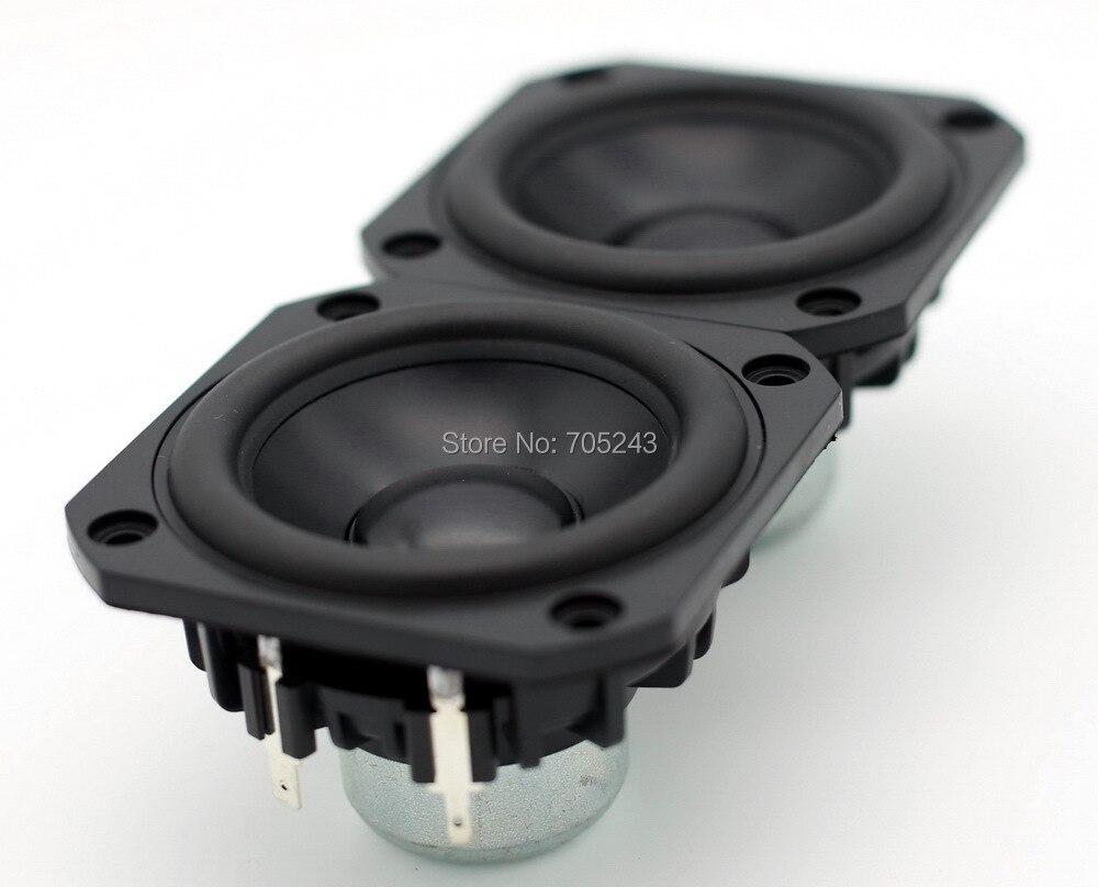 Paire (2 pièces) peerless P830986 HIEND 3 pouces en aluminium cône fullrange haut-parleur livraison gratuite pour hifi bureau audio