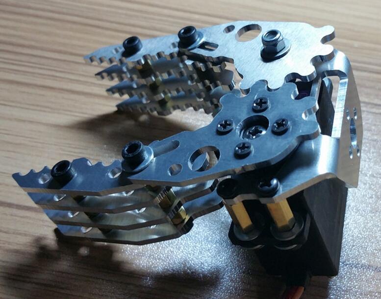 все цены на  Free Shipping Robot gripper Manipulator CL-4 Robot hand fingers Paw Mechanical claws  онлайн