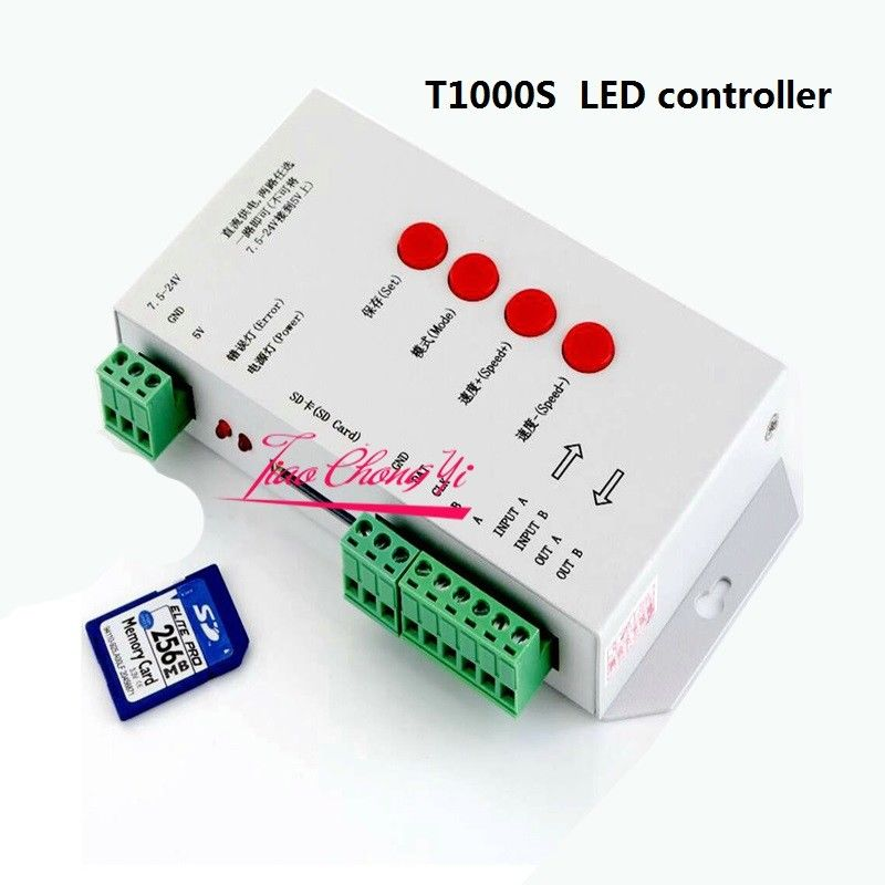 50 M 5050 RGB Dream Color 6803 LED bande + T1000S Controll + 12 V 40A 500 W puissance - 4