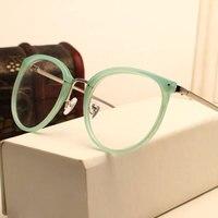 New Arrival Vintage Decoration Optical Eyeglasses Frame Myopia Round Metal Women Spectacles Eye Glasses Eyewear TL01