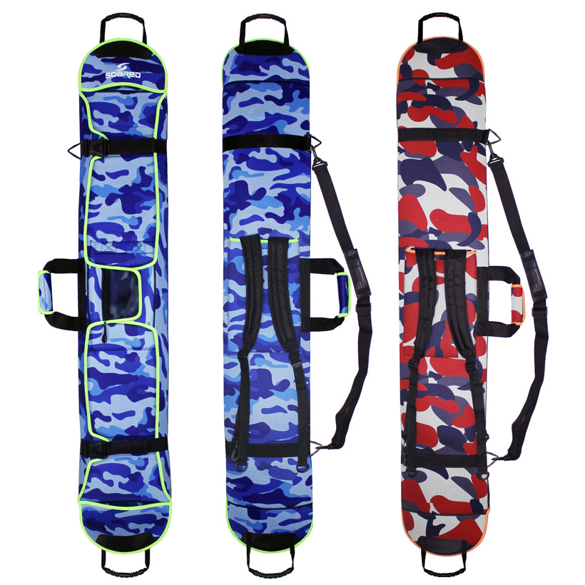 New Ski Board Bag Snowboard Bag Skiing Board Bags Scratch Resistant Monoboard Plate Protective Case Diving
