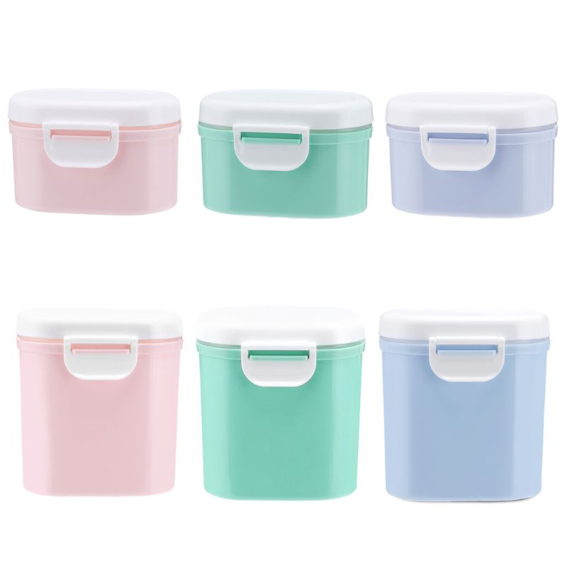 Baby Portable Milk Powder Sealed Boxes Dispenser Children Food Container Large Capacity Storage Box in Baby Food Storage from Mother Kids