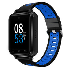 Finow smartwatch Q1 pro Android 6.0 MTK 6737 1GB+8GB heart rate gps WiFi smart watch Free headphones and extra strap PK M1/5/9(China)