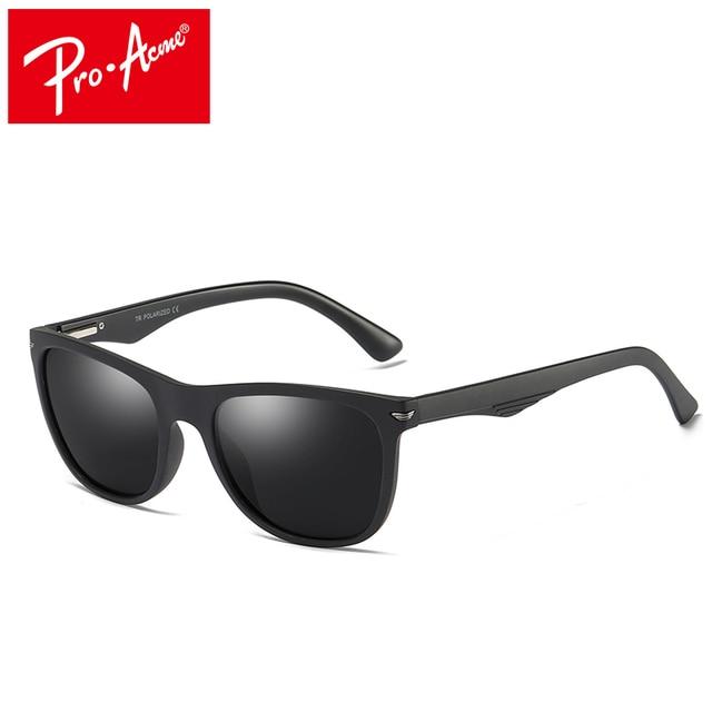 9dd14c0272e Pro Acme Sunglasses Men Women Driving Male HD Polarized Sun Glasses Vintage  TR90 Frame Male Eyewear Oculos Gafas UV400 PA1119