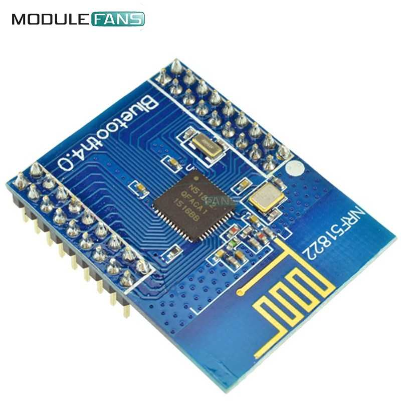 NRF51822 CORE51822 BLE4 0 Bluetooth Wireless Module Communication Board RF  Controller Antenna SPI I2C UART Rev2 Rev3 2 4 GHz
