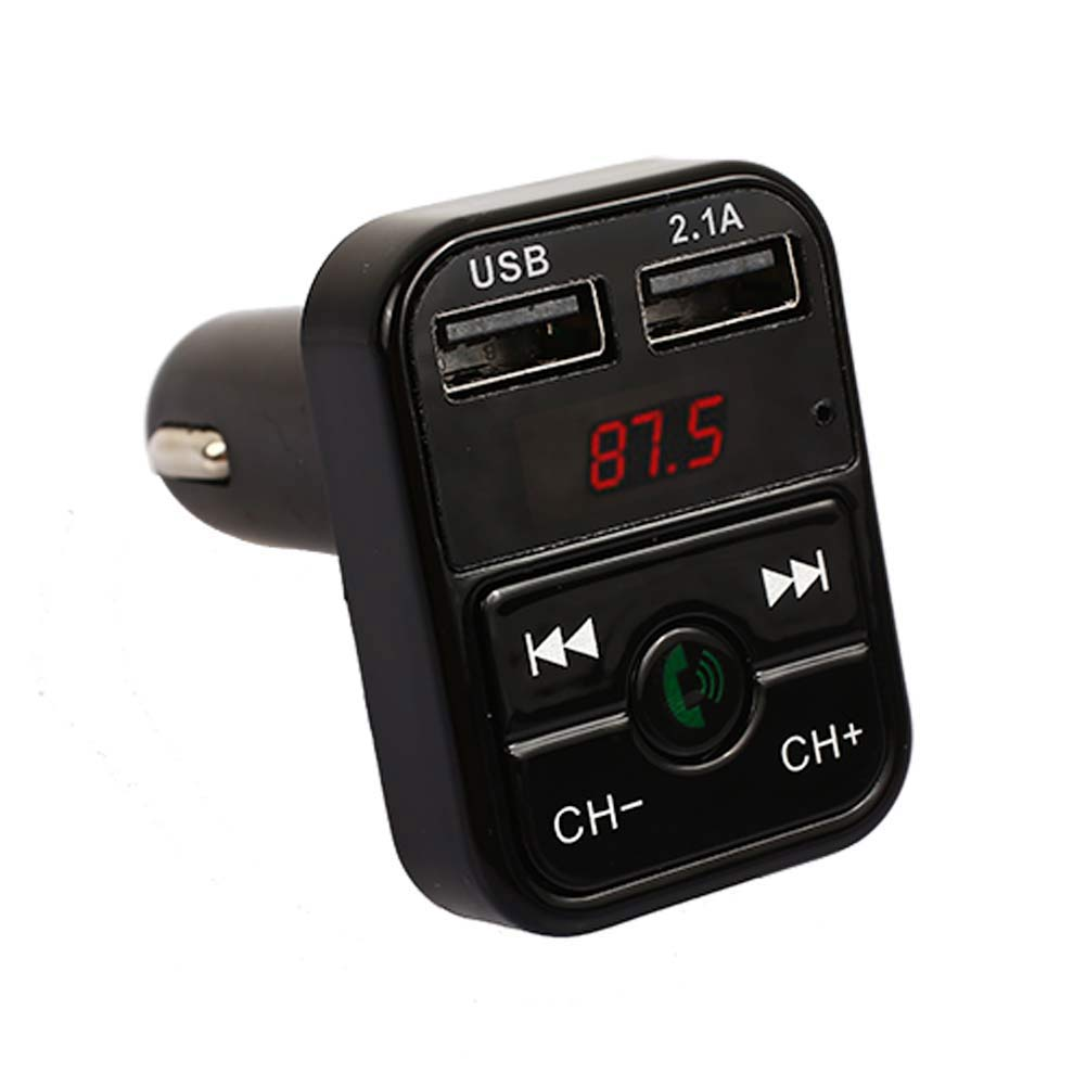 Bluetooth аудио приемник 2,1+ EDR Беспроводной bluetooth-приемник микрофон музыка универсальный автомобильный комплект громкой связи - Формат цифровых медиаданных: black