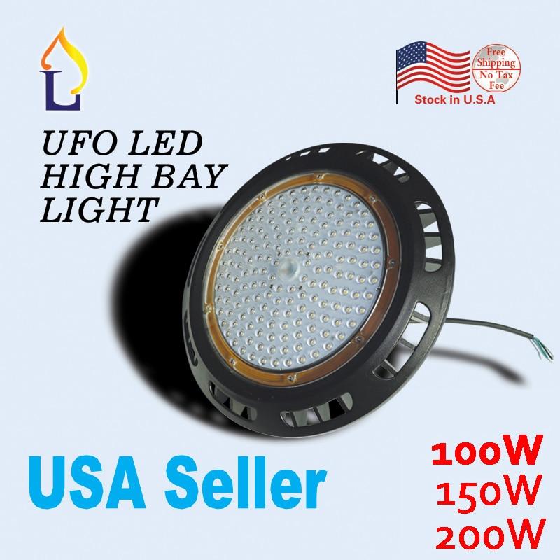 5pcs 100w 150w 200w ip65 led ufo high bay light industrial lighting rh aliexpress com LED Trailer Light Wiring Diagram On Off LED Light Wiring