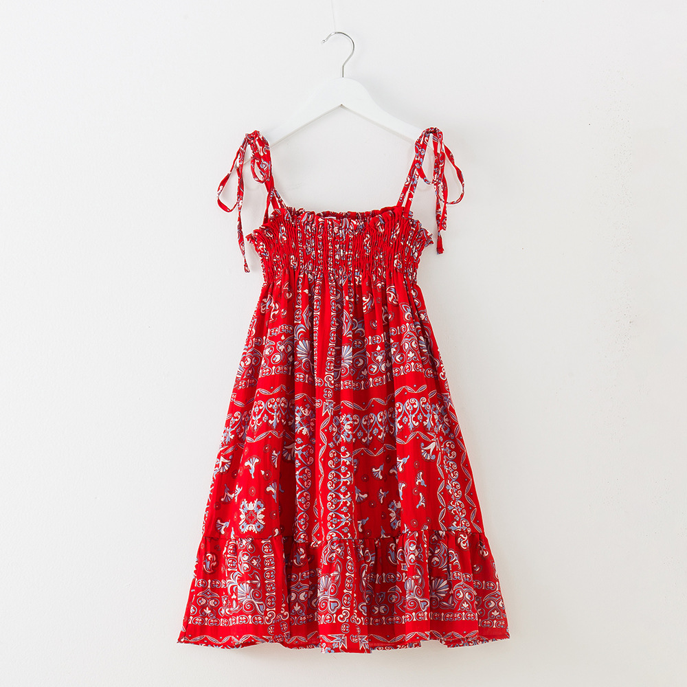 be33b2f985cb6 US $34.84 |Girls Beach Dress Clothing 12 years 2018 Summer Toddler Girls  Dress size 4 5 6 7 8 9 10 11 12 years old-in Dresses from Mother & Kids on  ...