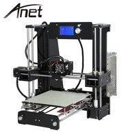 Anet A6 Full Acrylic Frame 3D Printer DIY Machine Industrial Extruder Reprap Prusa I3 10m Filaments