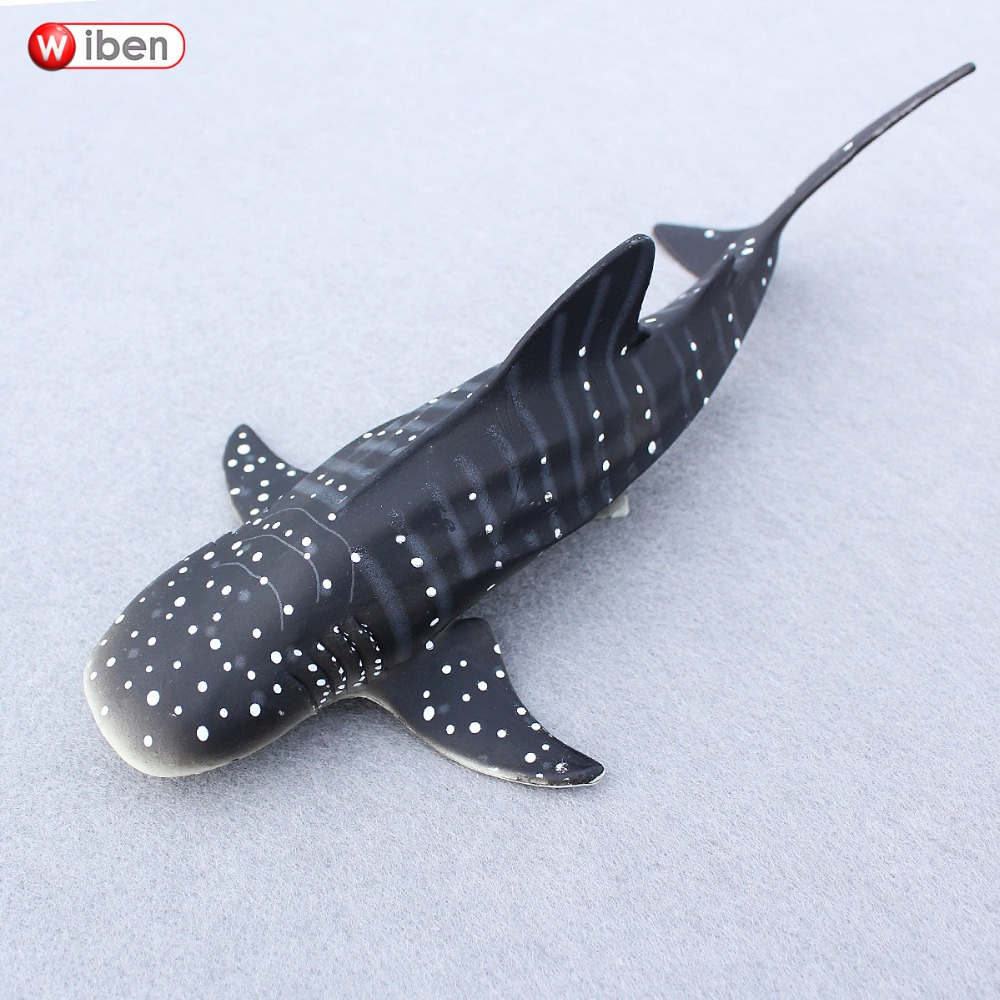 Wiben Sea Life Whale shark Simulation Animal Model Action & Toy Figures Educational toys Collection Kids Gifts