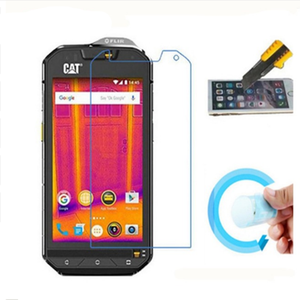 Soft Glass Nano Explosion proof Screen Protector Protective Lcd Film Guard For <font><b>Cat</b></font> S60 S30 S40 S50 B15Q S31 S41 <font><b>S61</b></font> (NOT Glass) image