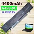 4400 mah batería del ordenador portátil para samsung r517 r519 r520 r522 r538 r580 r620 aa-pb9nc6w np350v5c r718 r719 r720 r780 x360