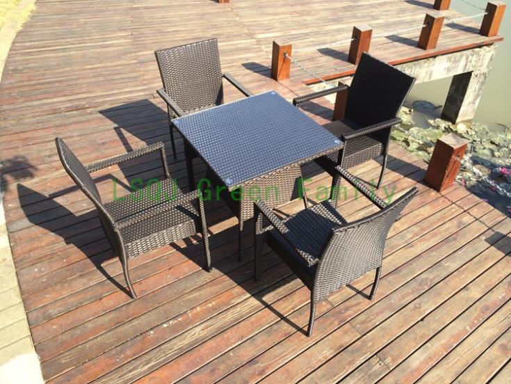 Brown wicker outdoor furniture set,outdoor furniture