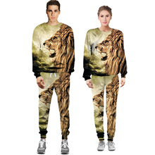 jacket pants male female tide casual sets sprinting jacket pants suit fashion for trousims spring
