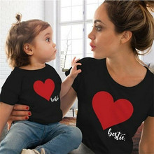 Mommy and Me Clothes Mother Daughter T-shirt Matching Family