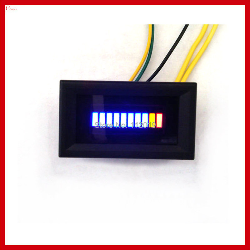 New Unversal Motorcycle Car Oil Scale Meter Led Oil Fuel