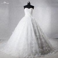 RSW1031 Luxury Vestidos De Novia 2016 Butterfly Cathedral Train Wedding Dresses