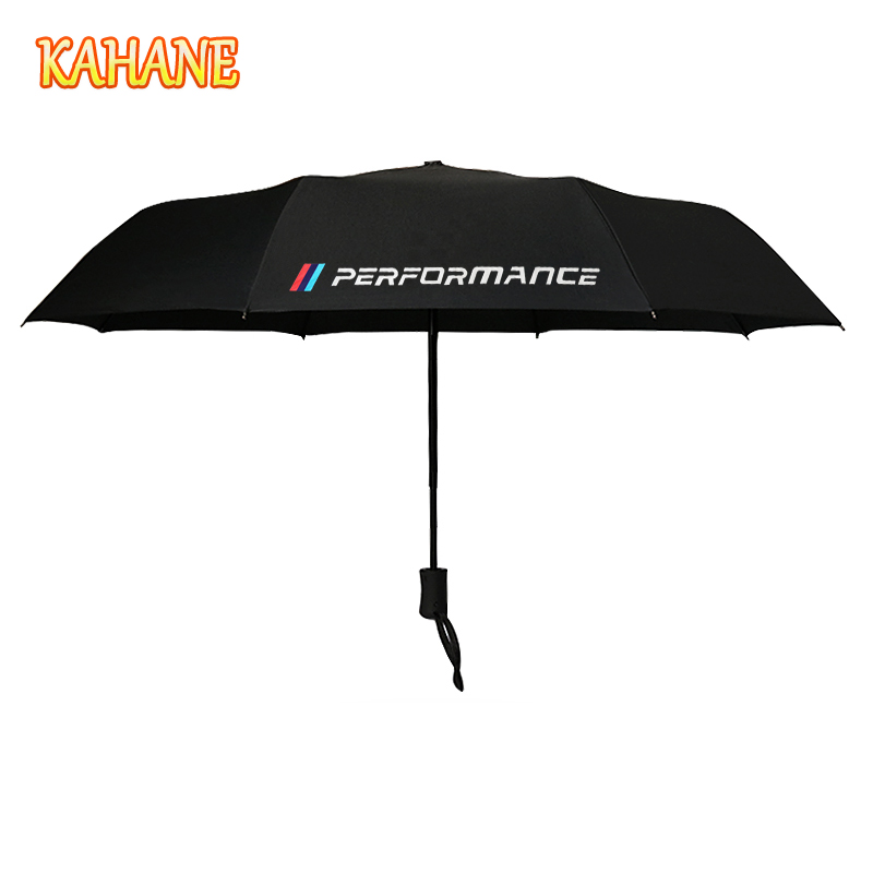 Kahane M rendimiento automático hombres y mujeres sol lluvia paraguas para BMW E60 E46 E39 E60 E90 F30 E36 F10 x5 E70 X5 E53 E30 F20 E34
