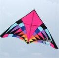 Envío Gratis Outdoor Fun Sports 5 m Poder Vuelo de la Cometa Del Triángulo Multicolor Fábrica Directa