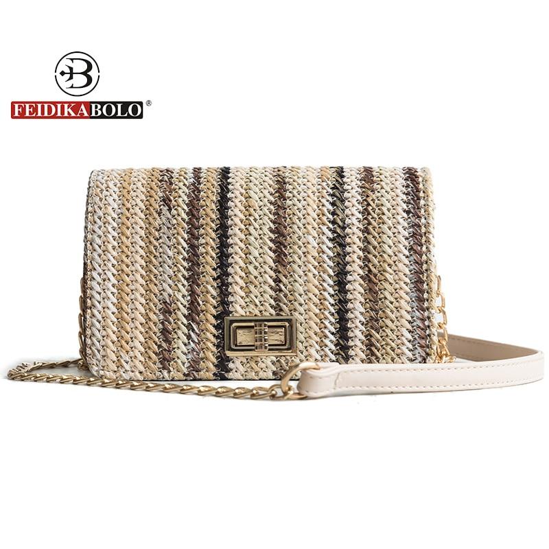 FEIDIKABOLO marca de bolsos de lujo bolsos de las mujeres diseñador - Bolsos