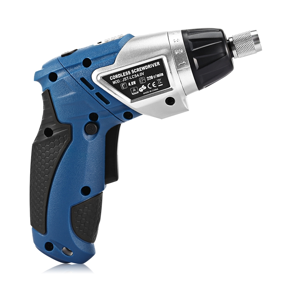 4.0V Cordless Drill Screwdriver High Speed Mini Drill Screwdriver Professional Case Household Power Electric Drill Hand Tools