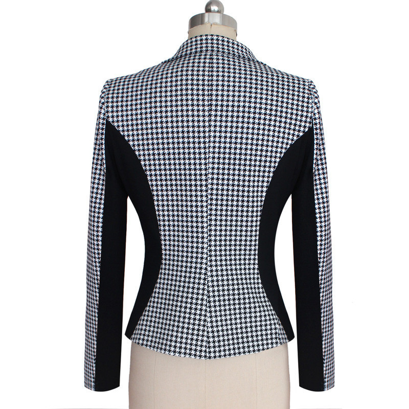 Women's Clothing ... Blazer & Suits ... 32656937768 ... 2 ... 2018 New Arrival Women Long Sleeve Notched Style Blazer Suits Office Casual  Plaid Color Clothing Female Blazer Single Breasted ...