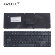 GZEELE محمول لوحة مفاتيح إتش بي CQ62 G62 G62 a25eo CQ56 G56 ل كومباك 56 62 G56 G62 CQ62 CQ56 CQ56 100 الإنكليزية الأسود