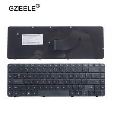 Клавиатура для ноутбука GZEELE, клавиатура для HP CQ62, G62, CQ56, G56, для Compaq 56, 62, G56, G62, CQ62, CQ56, черная, с английским и английским языками, для CQ56, для CQ56